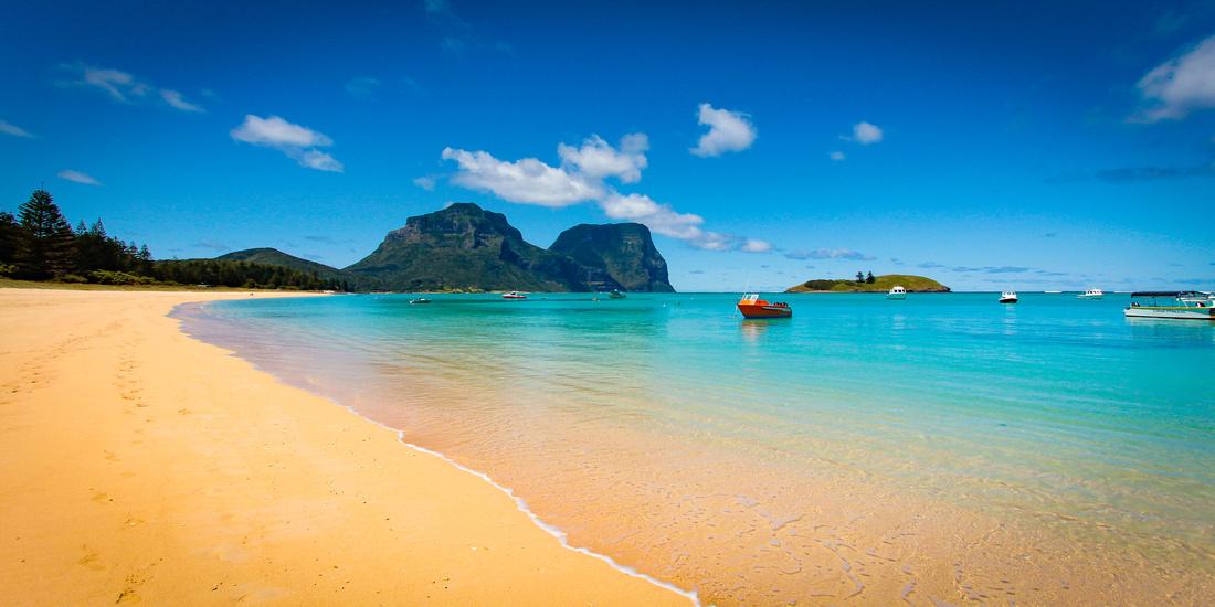 Lord Howe Lagoon Beach