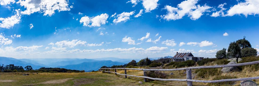 Craigs Hut Panoramic