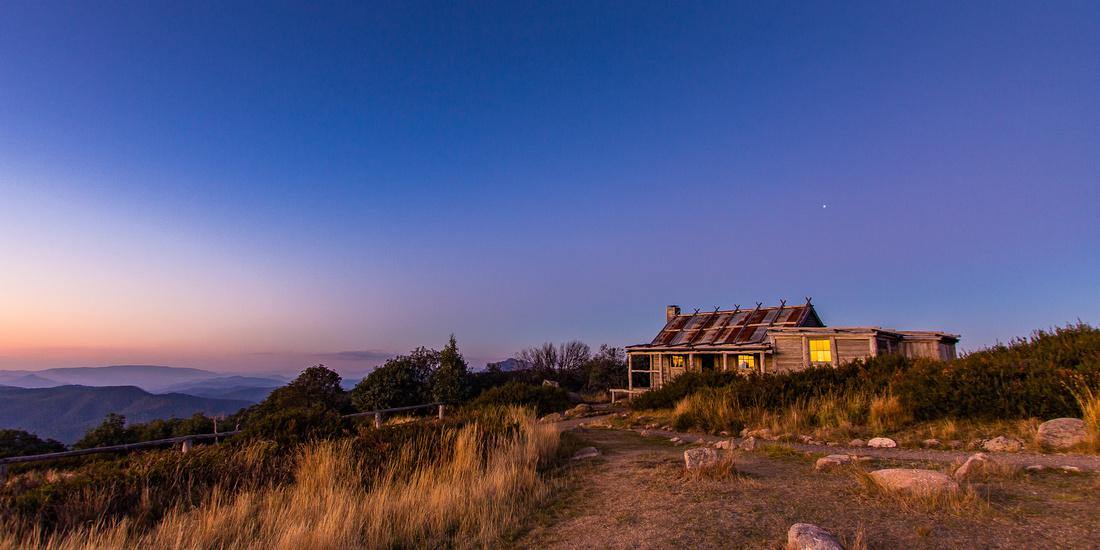 Craigs Hut Sunset