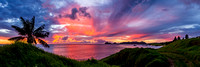 Lord Howe Sunset Pano